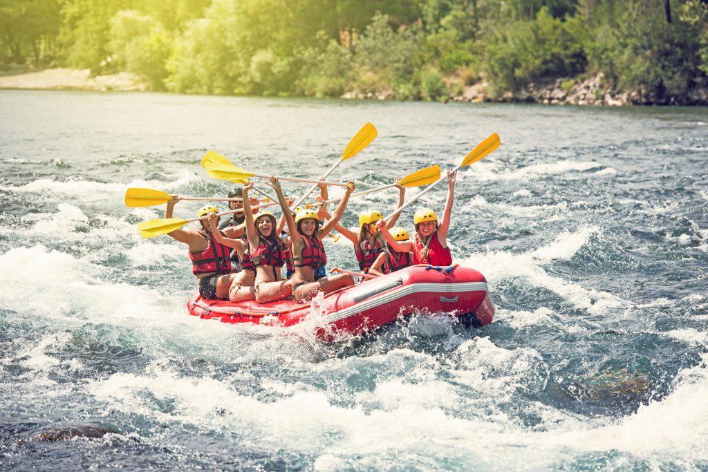 Go White Water Rafting In Vernal
